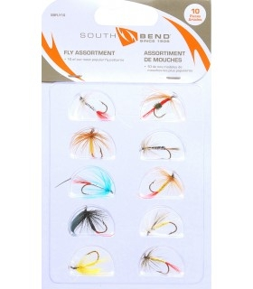South Bend 10 pcs Fly Assortment