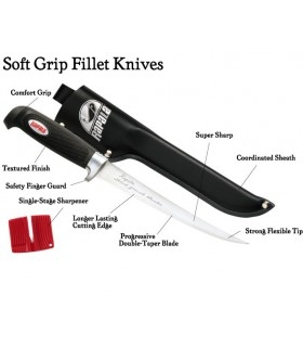 Rapala Soft Grip® Fillet Knife 15 cm