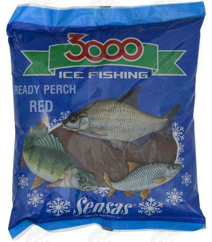 Ice Fishing Groundbait Sensas 3000 Perch Red