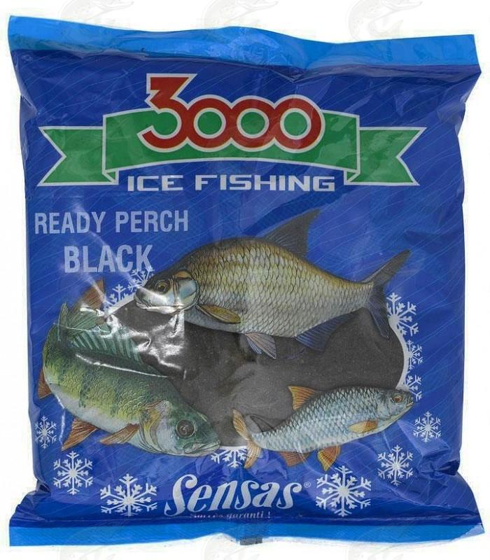 Ice Fishing Groundbait Sensas 3000 Perch Black