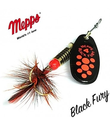 Mepps Black Fury