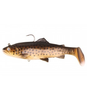 Savage Gear 3D Trout Rattle Shad| Dark Brown Trout