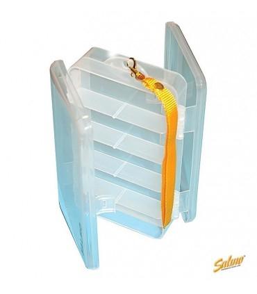 Double-Sided Clear Utility Box SALMO 19x11x4,8 cm