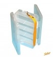 Double-Sided Clear Utility Box SALMO 19 x 11 x 4,8 cm