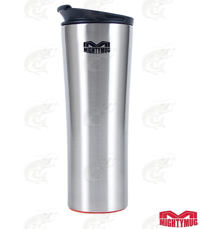 Mighty Mug Biggie SS: Stainless Steel Silver