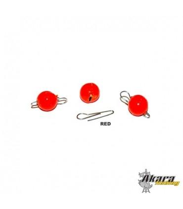 "Cheburashka Jig Head ""Akara"" (Red)"