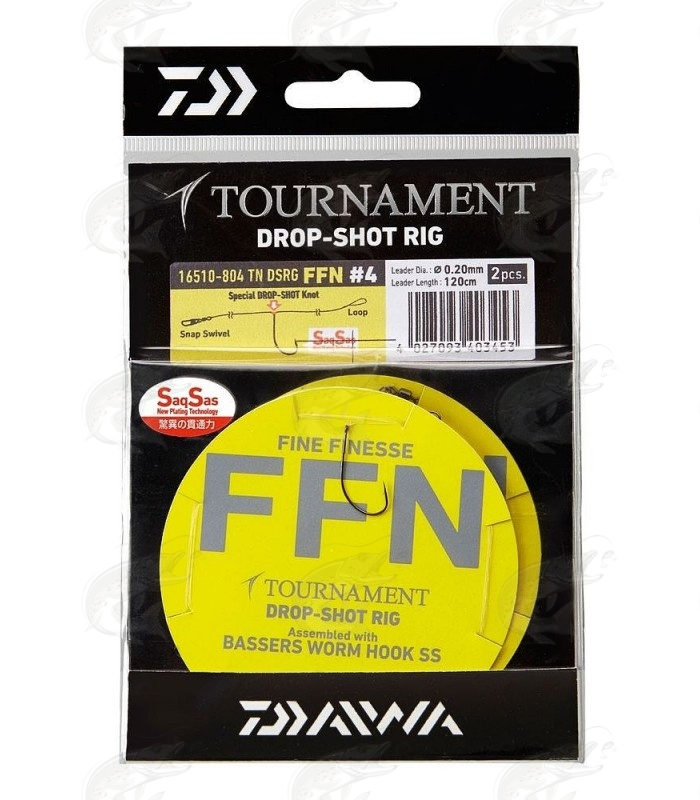 Daiwa Tournament Drop Shot Rig FFN