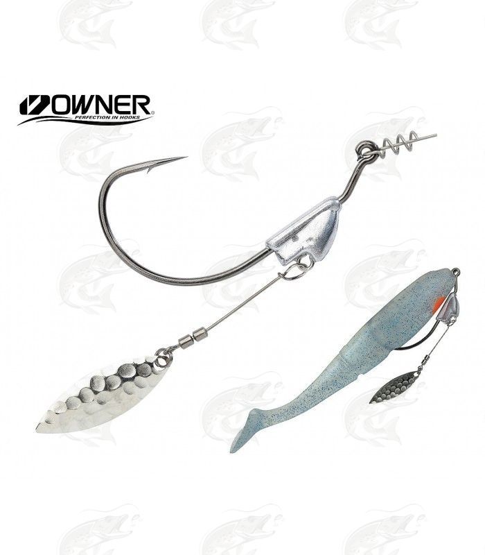 Weedless Hooks Owner Flashy Swimmer