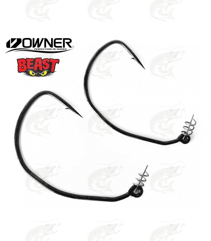 Weedless Hooks Owner Beast with Twistlock