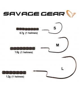 Savage Gear Soft 4Play Weedless Hooks