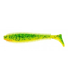 Fox Rage Spikey Shad | Lemon Tiger