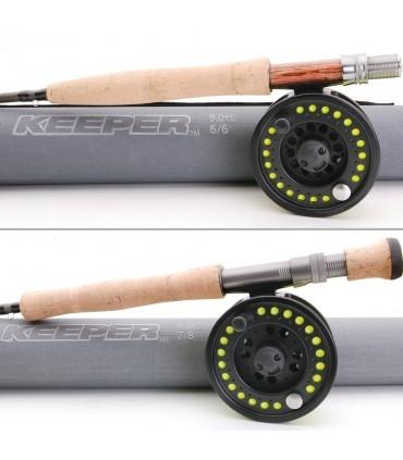 Keeper Starter Fly Fishing Set
