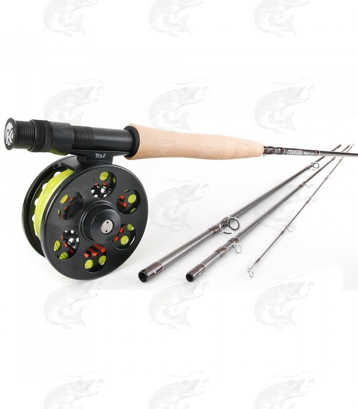 Keeper Trout Fly Fishing Set