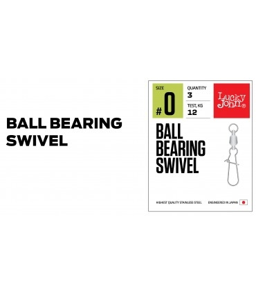 "Lucky John Pro ""Ball Bearing Swivel"""