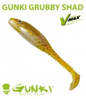Gunki Grubby Shad   Brown Sugar