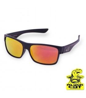 Black Cat Battle Cat Polarized Sunglasses