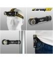 Headlamp / flashlight Armytek Wizard Pro v3 Magnet USB
