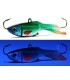 XP Baits Ice Jig Butterfly | 43 Green Silver Scout