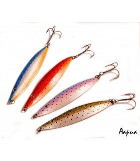 Sven Laanet's handmade lures for seatrout, 17 g model