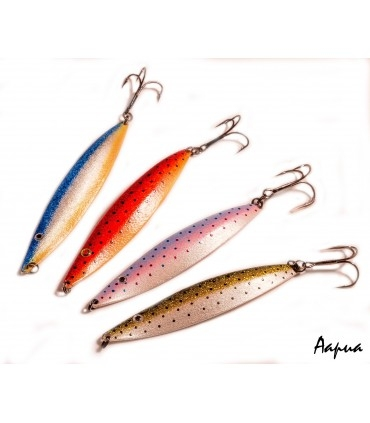 Sven Laanet's handmade spoons for sea trout