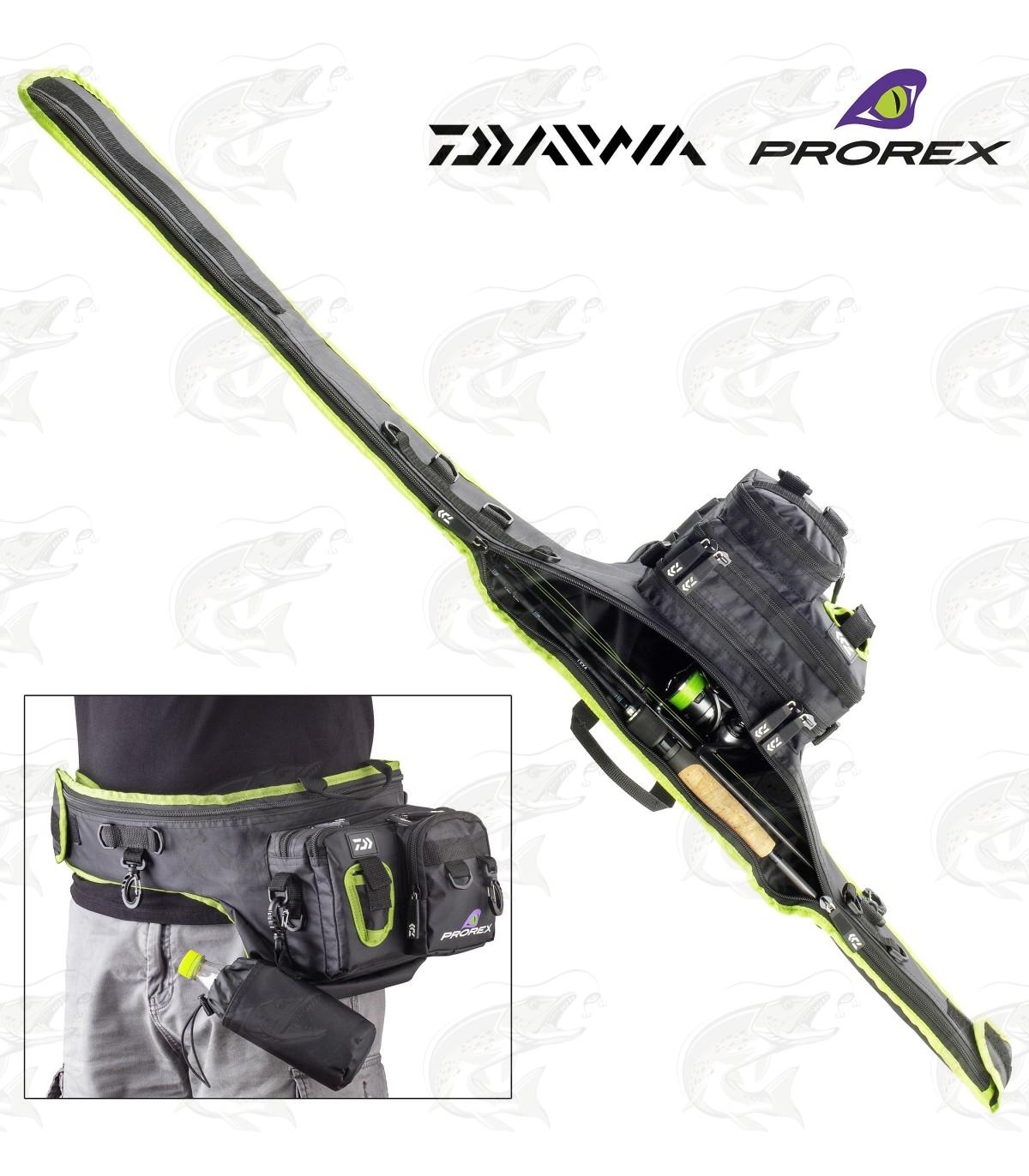 Chartreuse Black New Daiwa Prorex Rod Sleeve Choice of Sizes