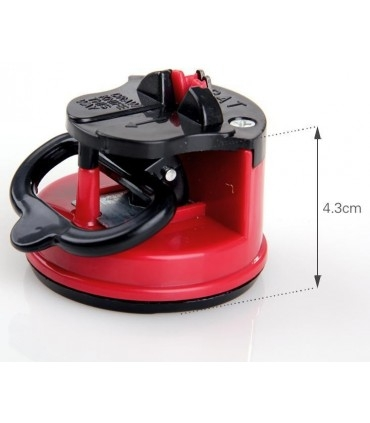 Knife Sharpener with a Suction Cup