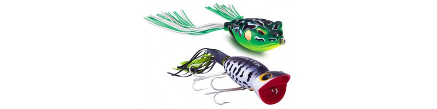 Topwater: lures & baits