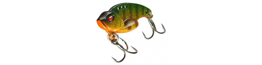 Blade Baits, also know as Vibration Baits, Vibe or Cicada lures