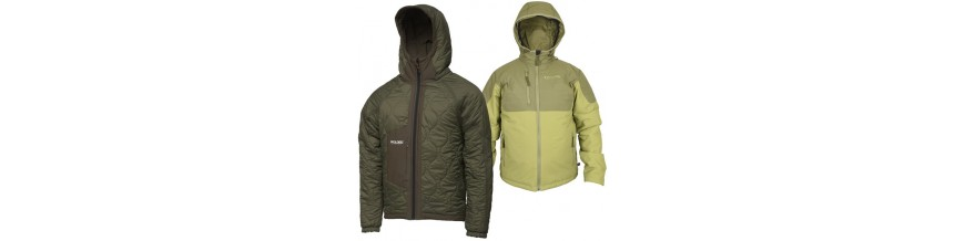 Jackets for anglers & free time
