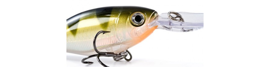 Hard Baits, Crankbaits & Plugs and Wobblers for Freshwater & Saltwater Fishing