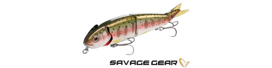 Savage Gear lures: crankbaits and soft baits