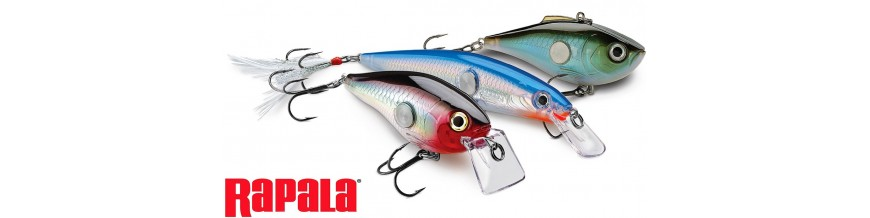 Rapala lures: crankbaits and plugs