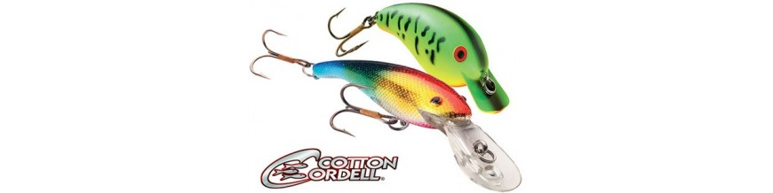 Cotton Cordell: crankbaits and plugs