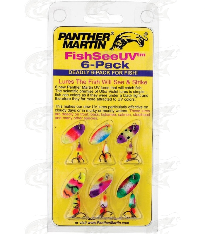 Panther Martin UV 6-pack