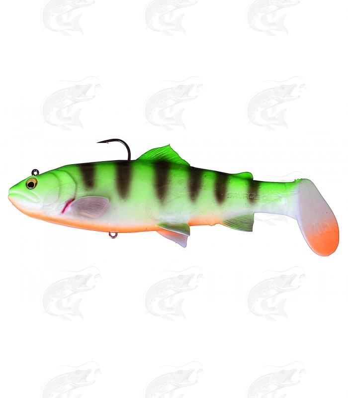 Savage Gear 3D Trout Rattle Shad | Fire Tiger
