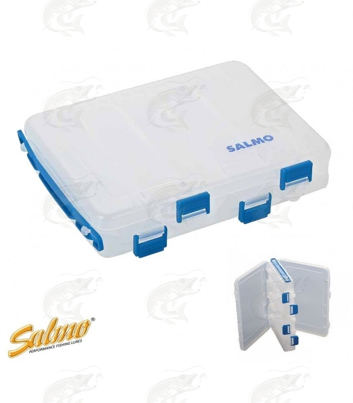 Double Sided Clear Utilty Box Salmo Lure Special 210 х 165 х 40 cm