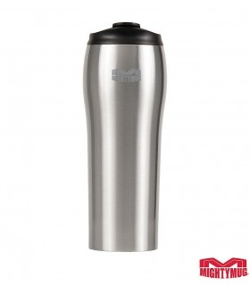 Mighty Mug Go SS: Stainless Steel Silver