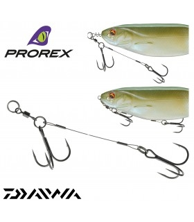 "Rig for Soft Baits ""Daiwa Prorex Screw-In Assist Hook"""